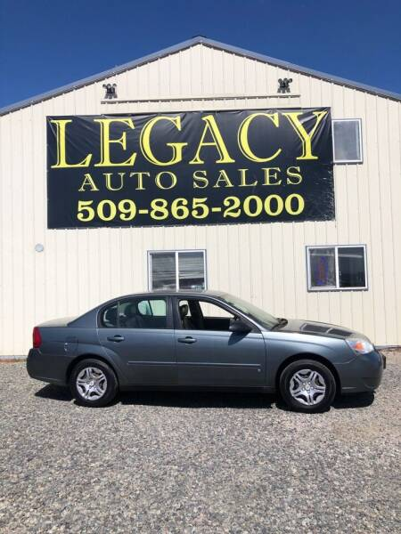 2006 Chevrolet Malibu for sale at Legacy Auto Sales in Toppenish WA