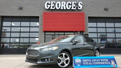 2015 Ford Fusion for sale at George's Used Cars - Pennsylvania & Allen in Brownstown MI