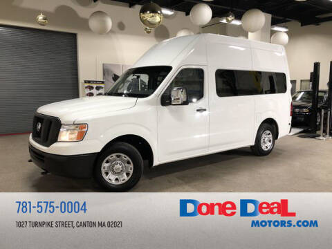2014 Nissan NV Cargo for sale at DONE DEAL MOTORS in Canton MA