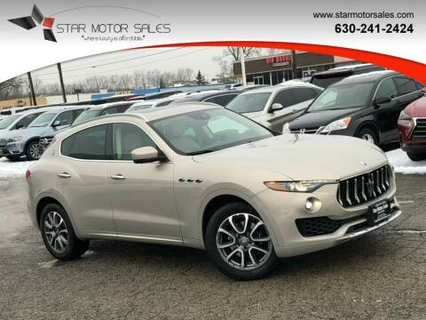 2017 Maserati Levante for sale at Star Motor Sales in Downers Grove IL