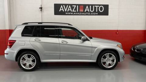 2014 Mercedes-Benz GLK for sale at AVAZI AUTO GROUP LLC in Gaithersburg MD