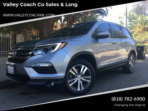 2017 Honda Pilot for sale at Valley Coach Co Sales & Lsng in Van Nuys CA