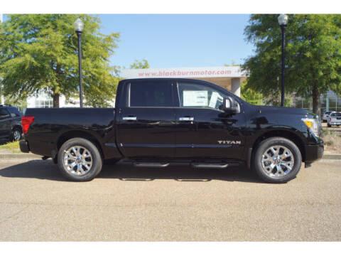 2021 Nissan Titan for sale at BLACKBURN MOTOR CO in Vicksburg MS