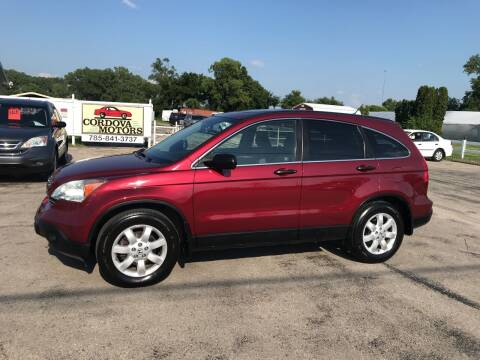 2009 Honda CR-V for sale at Cordova Motors in Lawrence KS