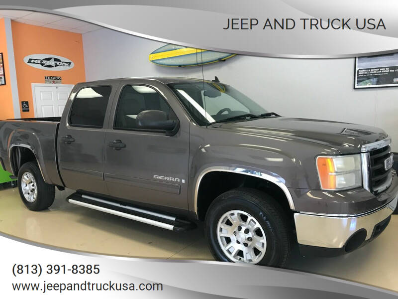 2008 GMC Sierra 1500 for sale at Jeep and Truck USA in Tampa FL