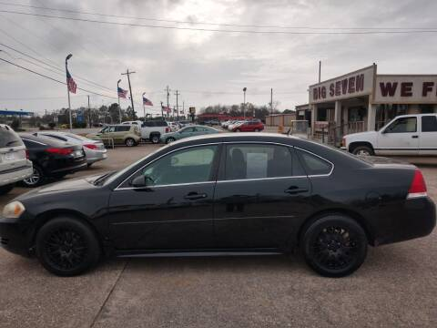 2010 Chevrolet Impala for sale at BIG 7 USED CARS INC in League City TX