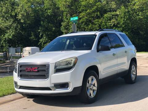 2016 GMC Acadia for sale at L G AUTO SALES in Boynton Beach FL