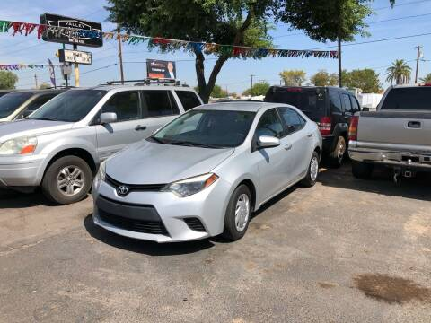 2014 Toyota Corolla for sale at Valley Auto Center in Phoenix AZ