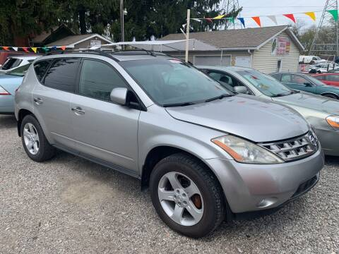 2004 Nissan Murano for sale at Trocci's Auto Sales in West Pittsburg PA