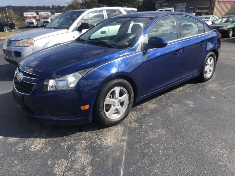 2012 Chevrolet Cruze for sale at EAGLE ROCK AUTO SALES in Eagle Rock MO
