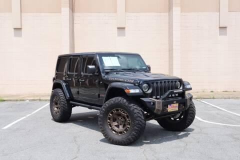 2018 Jeep Wrangler Unlimited for sale at El Compadre Trucks in Doraville GA