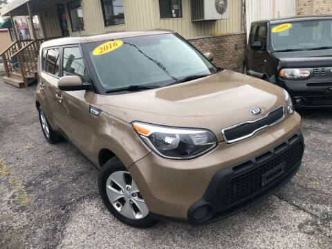 2016 Kia Soul for sale at Some Auto Sales in Hammond IN