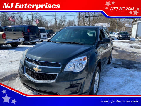 2013 Chevrolet Equinox for sale at NJ Enterprises in Indianapolis IN