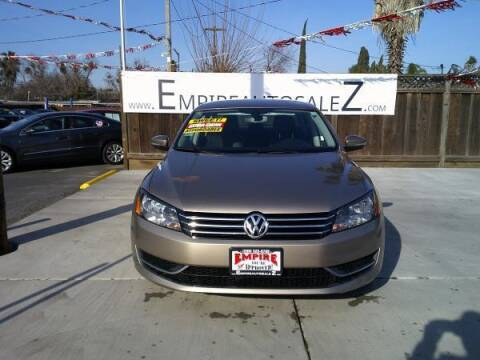 2015 Volkswagen Passat for sale at Empire Auto Sales in Modesto CA