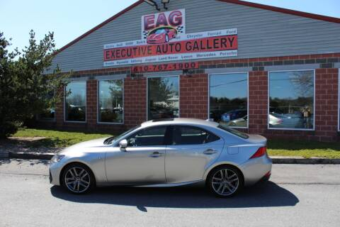 2019 Lexus IS 300 for sale at EXECUTIVE AUTO GALLERY INC in Walnutport PA