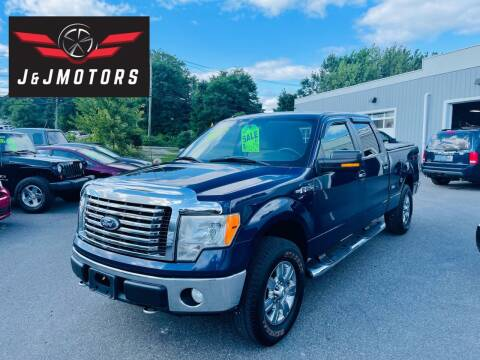 2010 Ford F-150 for sale at J & J MOTORS in New Milford CT