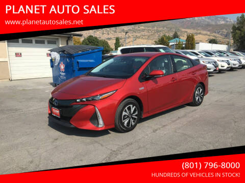 2018 Toyota Prius Prime for sale at PLANET AUTO SALES in Lindon UT