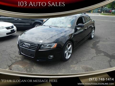 2010 Audi A5 for sale at 103 Auto Sales in Bloomfield NJ