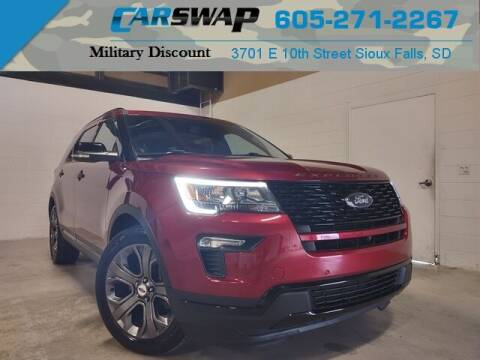 2018 Ford Explorer for sale at CarSwap in Sioux Falls SD