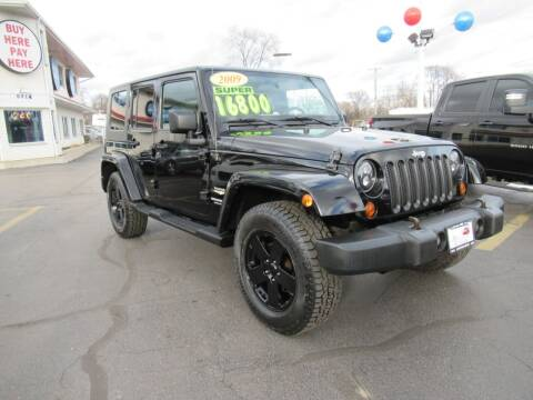 2009 Jeep Wrangler Unlimited for sale at Auto Land Inc in Crest Hill IL