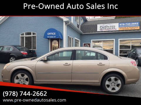 2008 Saturn Aura for sale at Pre-Owned Auto Sales Inc in Salem MA