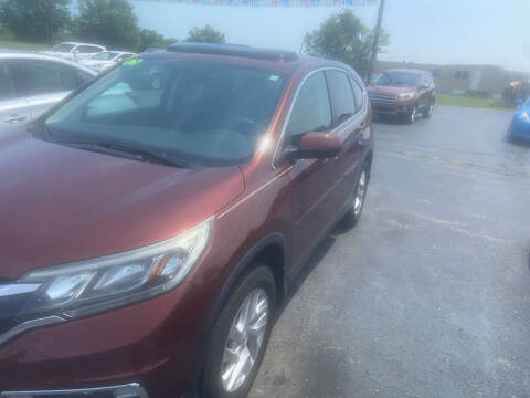 2015 Honda CR-V for sale at EAGLE ONE AUTO SALES in Leesburg OH