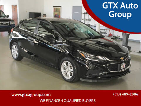 2018 Chevrolet Cruze for sale at GTX Auto Group in West Chester OH
