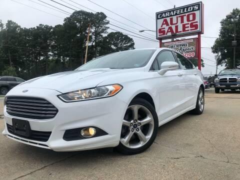 2016 Ford Fusion for sale at Carafello's Auto Sales in Norfolk VA
