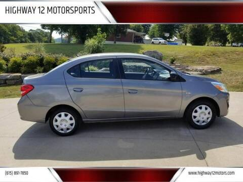 2017 Mitsubishi Mirage G4 for sale at HIGHWAY 12 MOTORSPORTS in Nashville TN