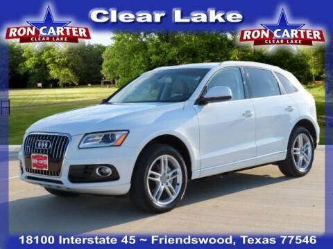 2017 Audi Q5 for sale at Ron Carter  Clear Lake Used Cars in Houston TX