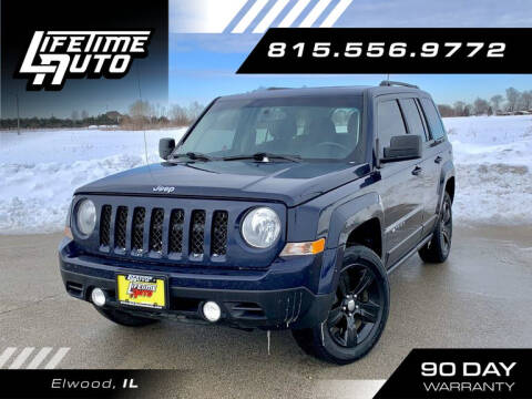 2016 Jeep Patriot for sale at Lifetime Auto in Elwood IL