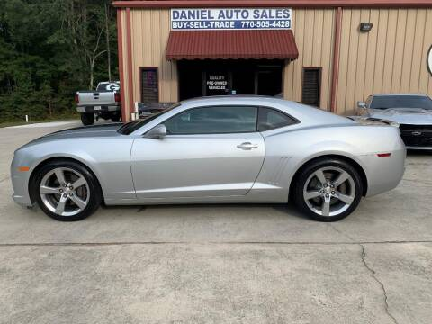 2010 Chevrolet Camaro for sale at Daniel Used Auto Sales in Dallas GA