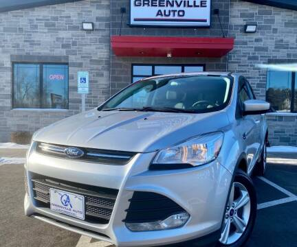 2016 Ford Escape for sale at GREENVILLE AUTO in Greenville WI