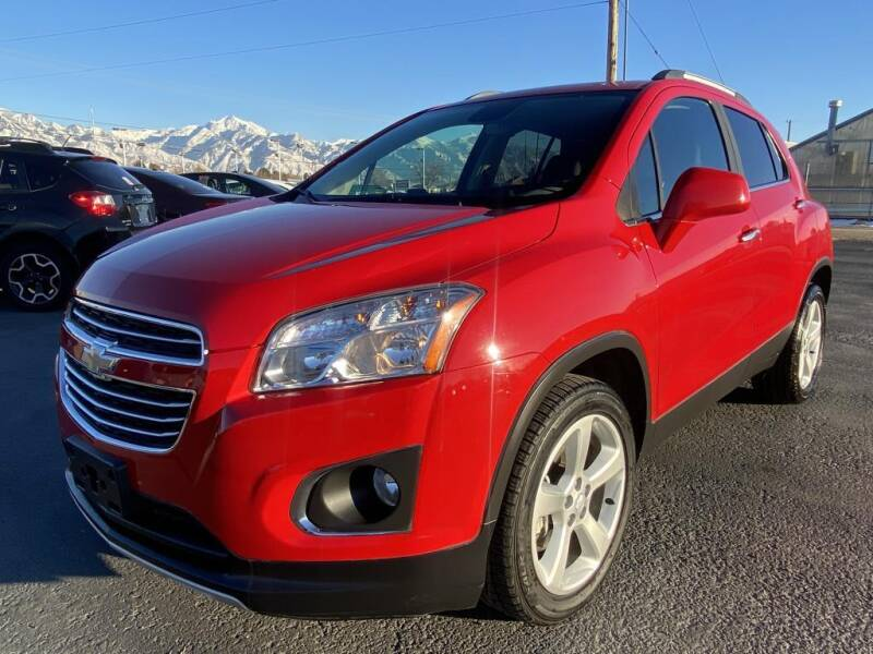 2015 Chevrolet Trax for sale at INVICTUS MOTOR COMPANY in West Valley City UT