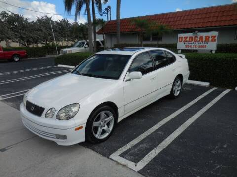 1999 Lexus GS 400 for sale at Uzdcarz Inc. in Pompano Beach FL