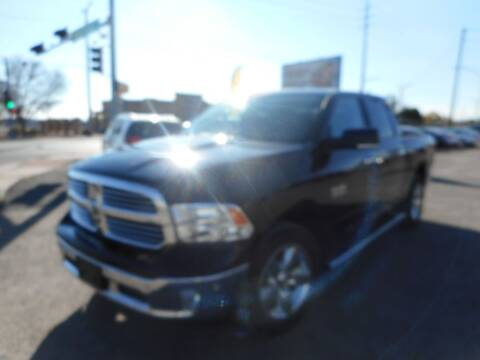 2017 RAM Ram Pickup 1500 for sale at AUGE'S SALES AND SERVICE in Belen NM