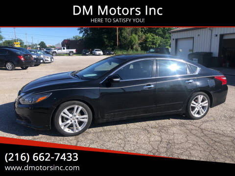2016 Nissan Altima for sale at DM Motors Inc in Maple Heights OH