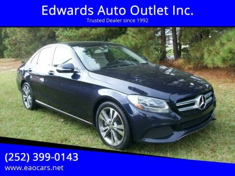 2015 Mercedes-Benz C-Class for sale at Edwards Auto Outlet Inc. in Wilson NC