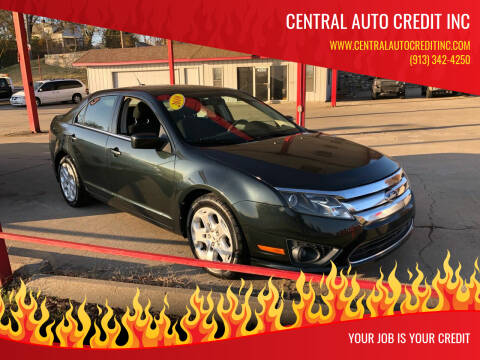 2010 Ford Fusion for sale at Central Auto Credit Inc in Kansas City KS