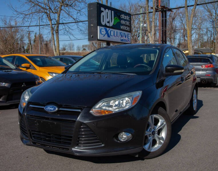 2012 Ford Focus for sale at EXCLUSIVE MOTORS in Virginia Beach VA