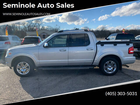 2009 Ford Explorer Sport Trac for sale at Seminole Auto Sales in Seminole OK