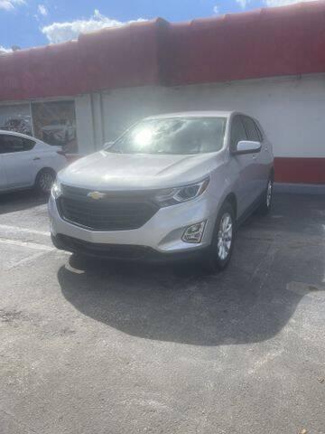 2018 Chevrolet Equinox for sale at VALDO AUTO SALES in Hialeah FL