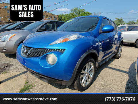 2012 Nissan JUKE for sale at SAM'S AUTO SALES in Chicago IL