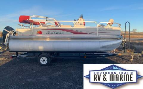 2008 SUN TRACKER BASS BUGGY 18 for sale at SOUTHERN IDAHO RV AND MARINE in Jerome ID