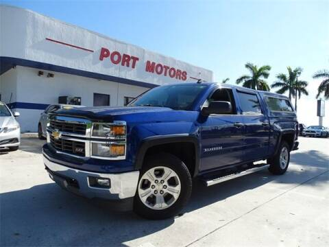 2014 Chevrolet Silverado 1500 for sale at Automotive Credit Union Services in West Palm Beach FL