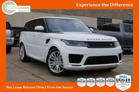 2019 Land Rover Range Rover Sport for sale at Dallas Auto Finance in Dallas TX