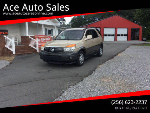 2002 Buick Rendezvous for sale at Ace Auto Sales - $1500 DOWN PAYMENTS in Fyffe AL