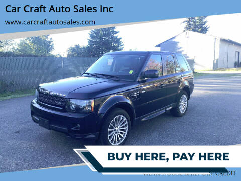 2012 Land Rover Range Rover Sport for sale at Car Craft Auto Sales Inc in Lynnwood WA