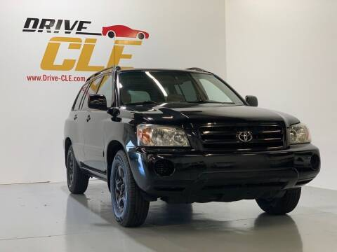 2004 Toyota Highlander for sale at Drive CLE in Willoughby OH
