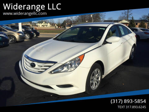 2012 Hyundai Sonata for sale at Widerange LLC in Greenwood IN